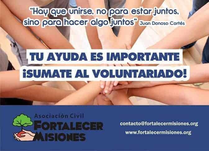 voluntariado misiones argentina